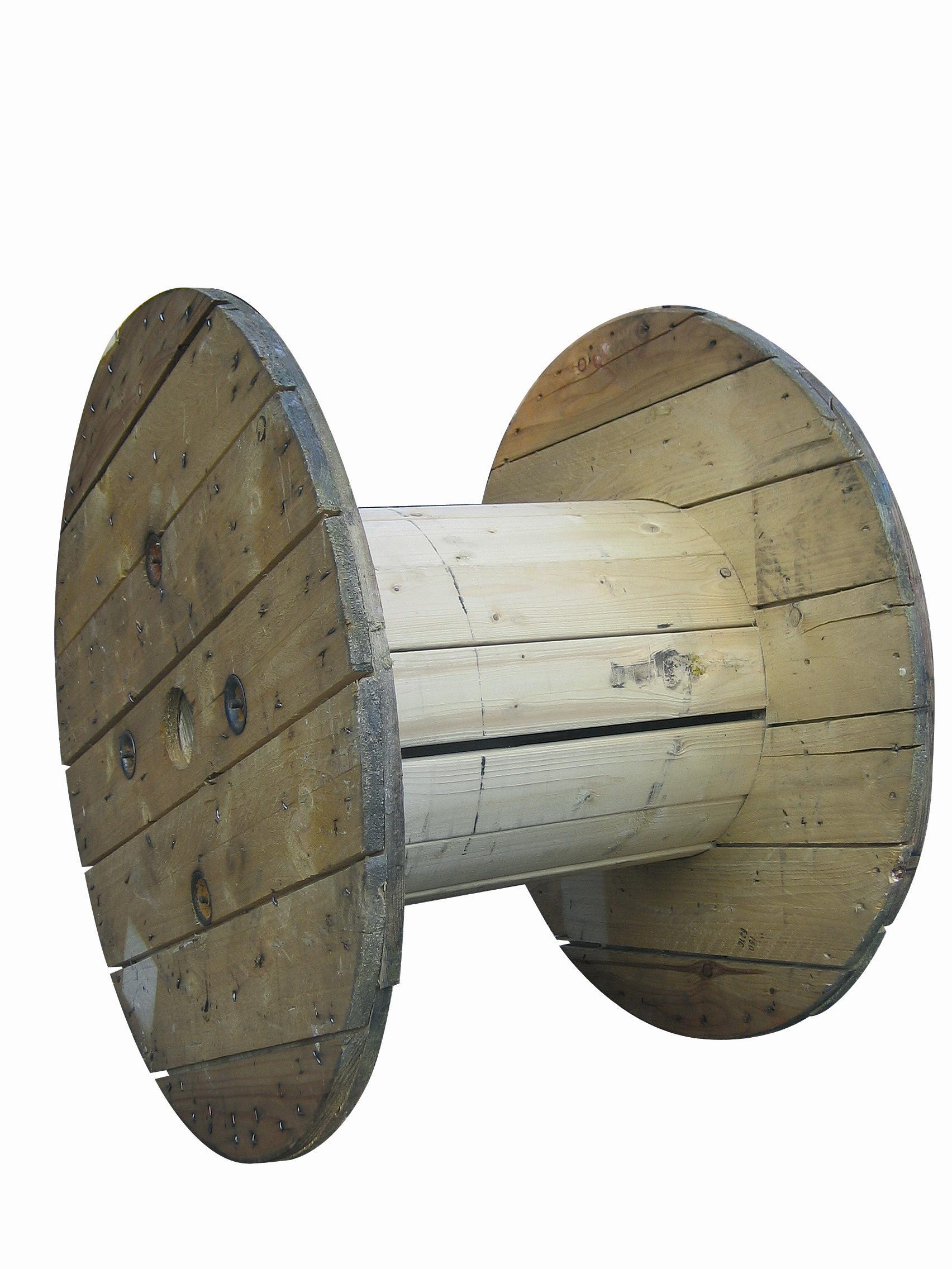 Article sur la construction d une table avec un vieux touret l 39 atelier de peyo - Touret de cable ...