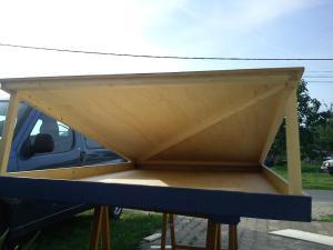 article fabrication du bed roof l 39 atelier de peyo. Black Bedroom Furniture Sets. Home Design Ideas