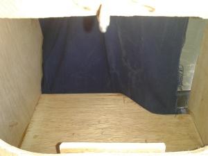 fond du meuble en tissus