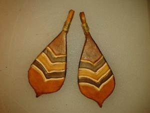 Boucles d'oreilles modèle ''Calbasse''