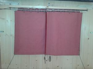 poids pour bonne fermeture rideaux