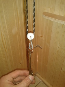 poids pour corde de fermeture