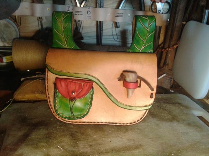sac cuir modèle ''coclicorne''