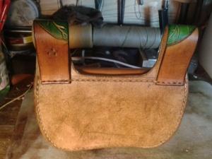 sac cuir modèle ''coclicorne'' vue arrière