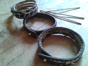 Bracelet multi tressages