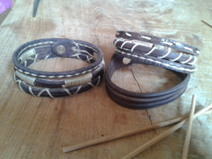 Bracelet multi tressages