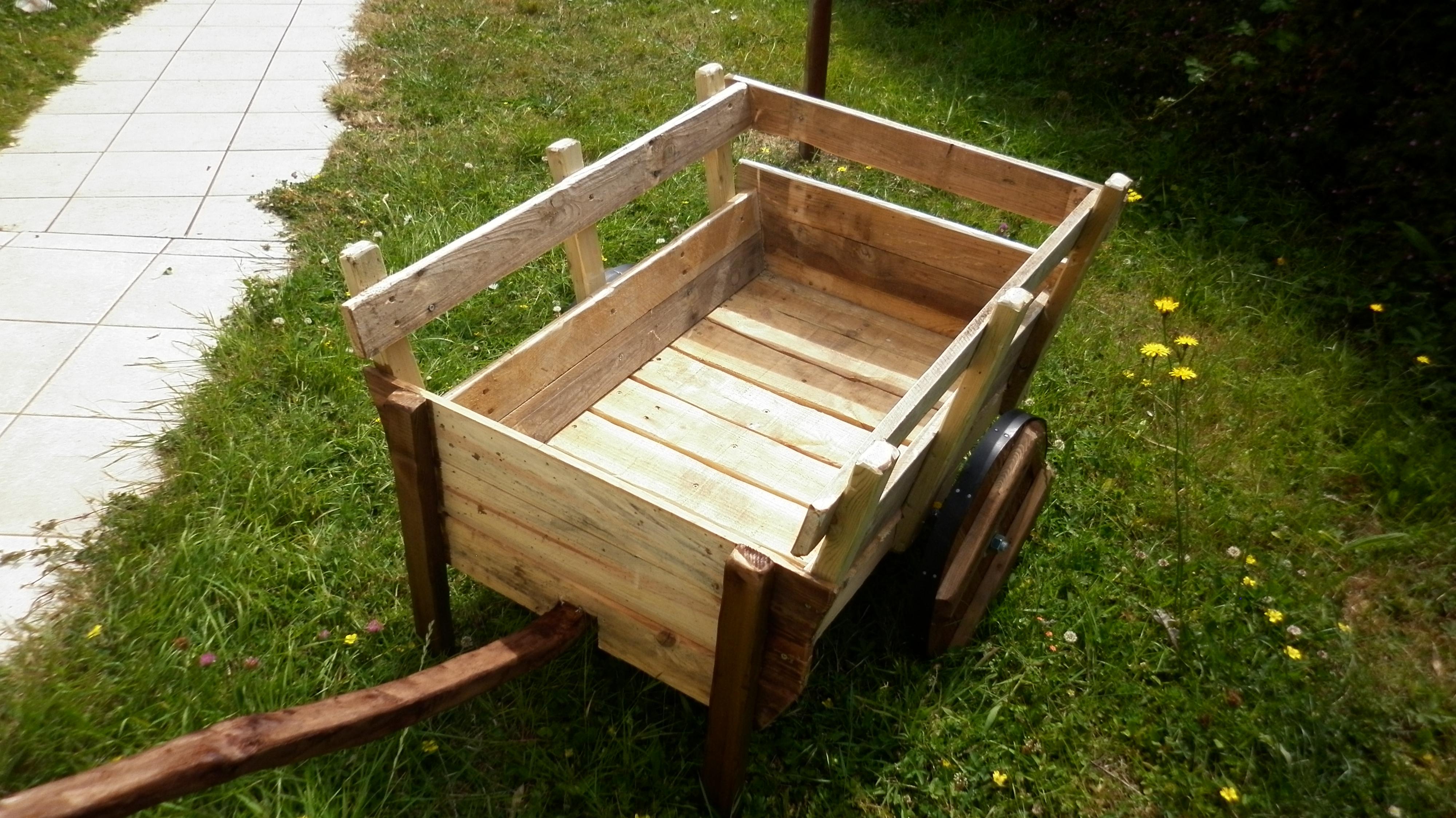 Construire Une Charreterie En Bois - Charrette médievale en palette L'atelier de peyo